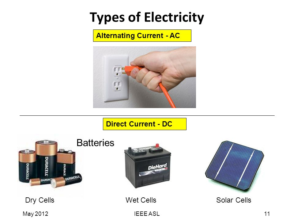 What Stores Ac Electricity Like A Dc Car Battery