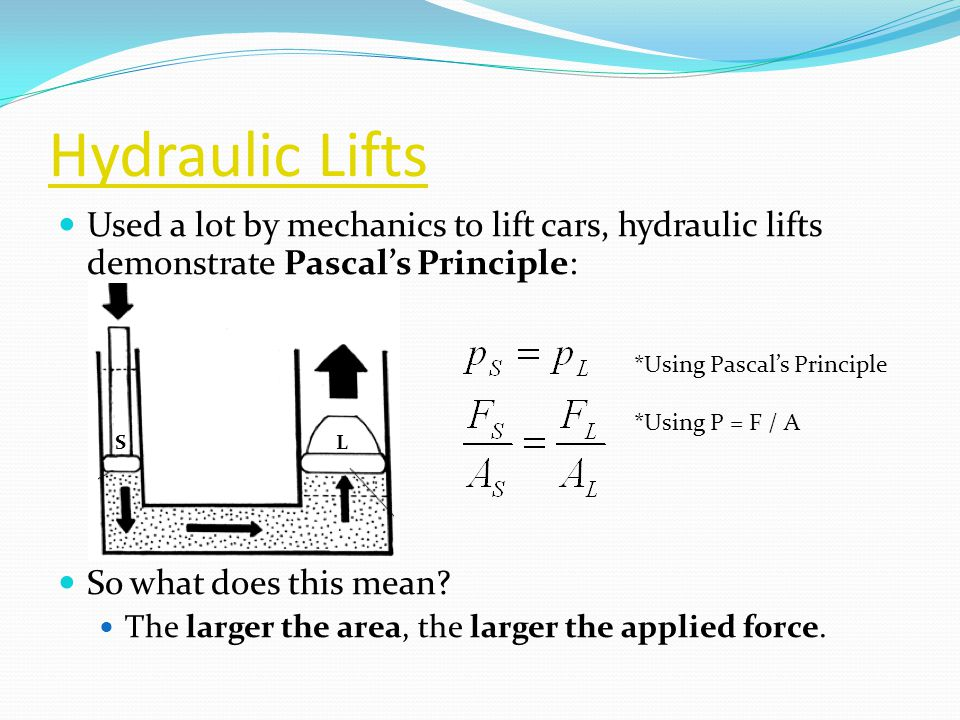 Hydraulic Lift Examples : Hydraulic pneumatic systems ppt video online download