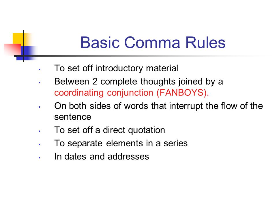 Learning to use commas properly does not have to be boring. This ...