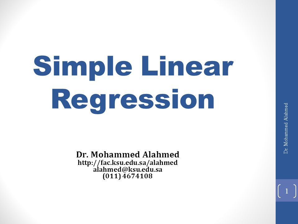 how to use linear regresion to predict trend
