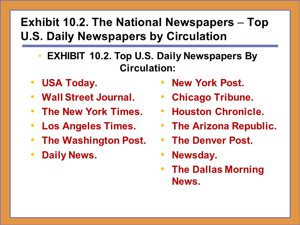 Dr H Ronald Moser Cumberland University Ppt Download - Top newspapers in usa