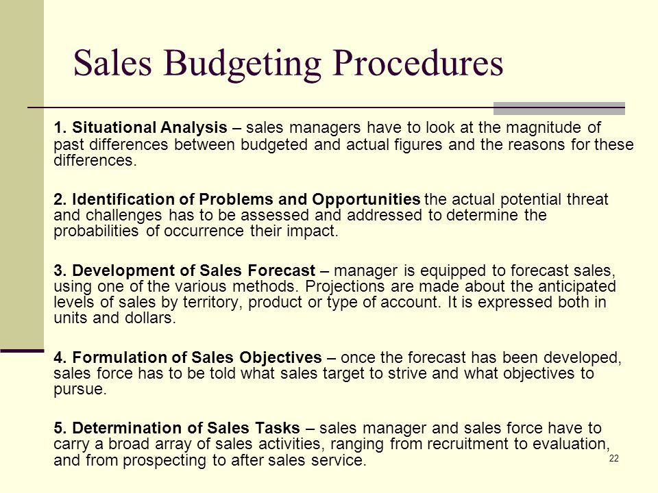 difference between budgeting and forecasting pdf