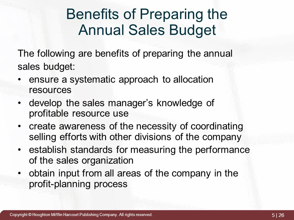 budget cycle and it s preparation