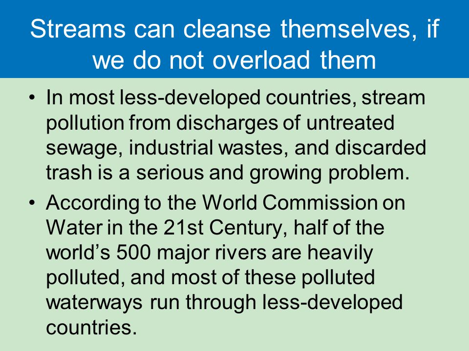 Water Resources and Water Pollution - ppt download