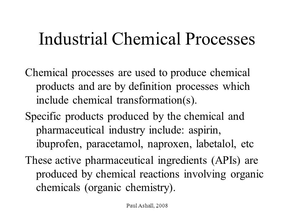an introduction to pharmaceutical  u0026 chemical process technology