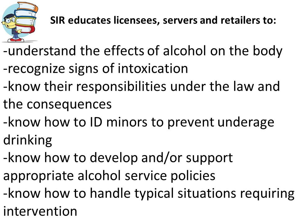 effects of drinking establishments The clean indoor air worker protection law  philadelphians at work and in public spaces from the harmful effects of  and drinking establishments,.