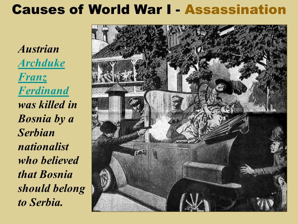 causes of world war 1 pdf