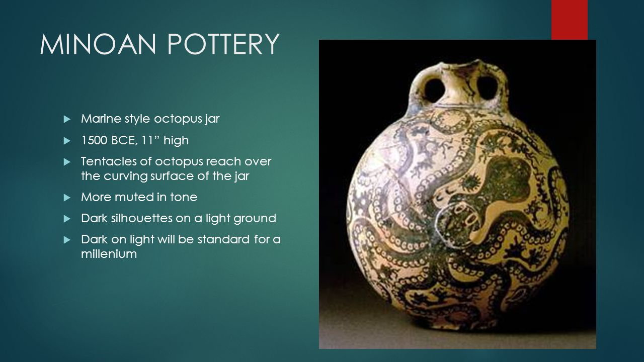 The prehistoric aegean ppt video online download 4 minoan pottery marine style octopus reviewsmspy