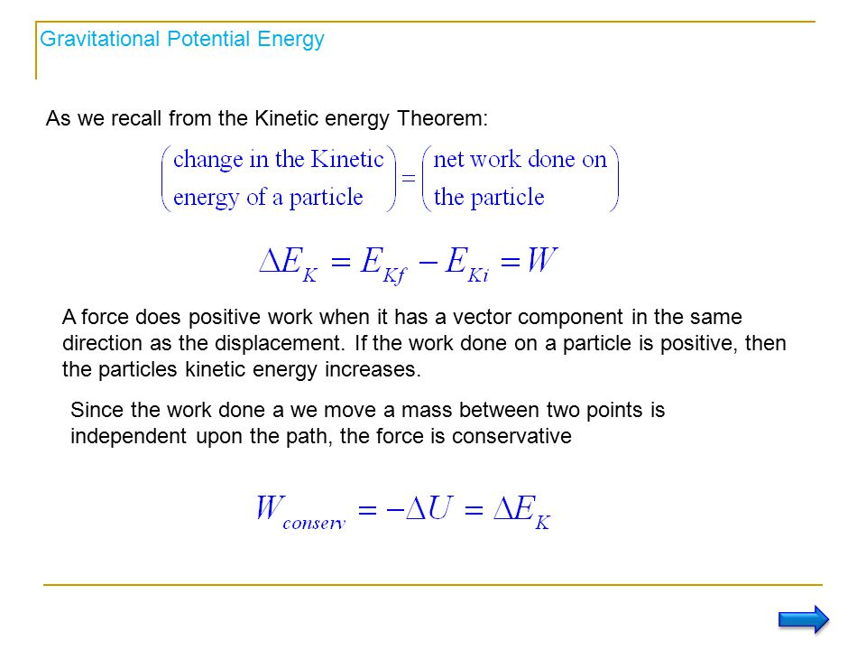 how to find mass with potential energy