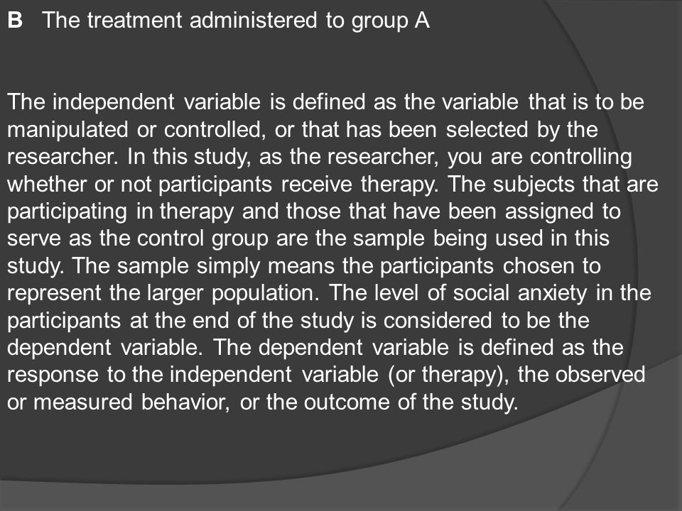 how to describe participants in a study mean standard deviation