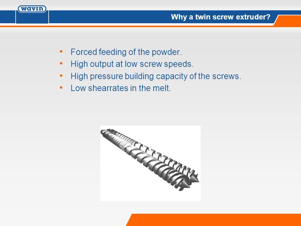 High Pressure Extruder : Twin screw extruder ppt video online download