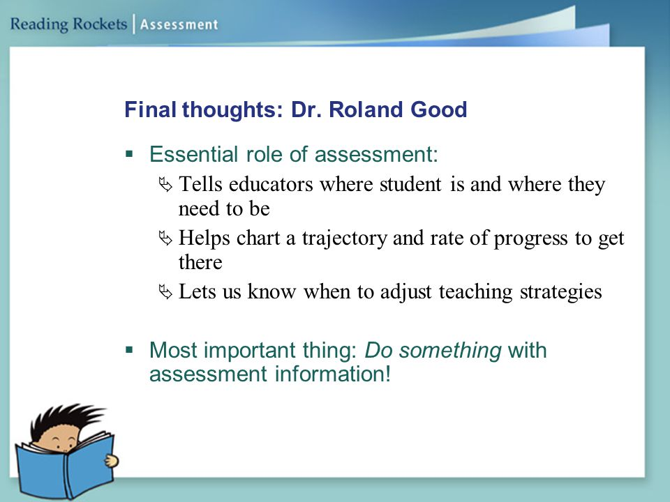 important principles of good classroom assessment Five characteristics of quality educational assessments – part one one of the most important characteristics of + general assessment design principles that.