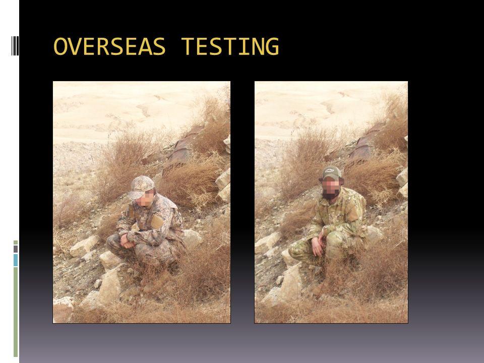 OVERSEAS TESTING