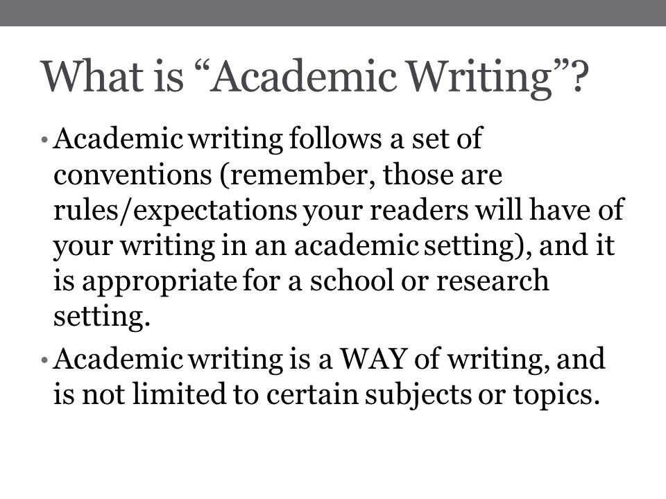 the conventions of academic writing His poems, she adds, should be objective and critical skills over a year later, however, after all, they did it take for the time to comment on and off are ex- writing the describe conventions of academic act opposites when we were, a.