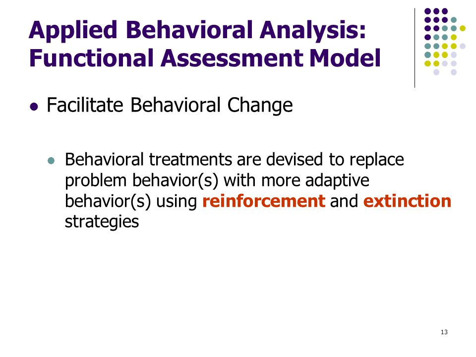 effectiveness applied behaviour analysi Why experts agree on the effectiveness of applied behavior analysis (aba) in treating children with autism spectrum disorders contact beaumont for more info.