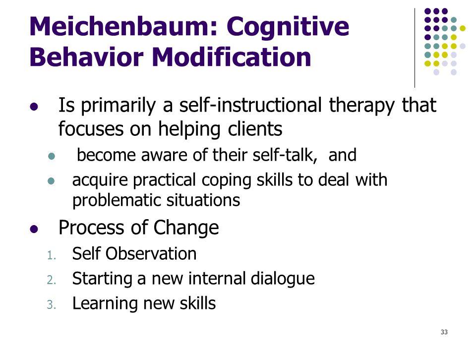 donald meichenbaum self instructional training