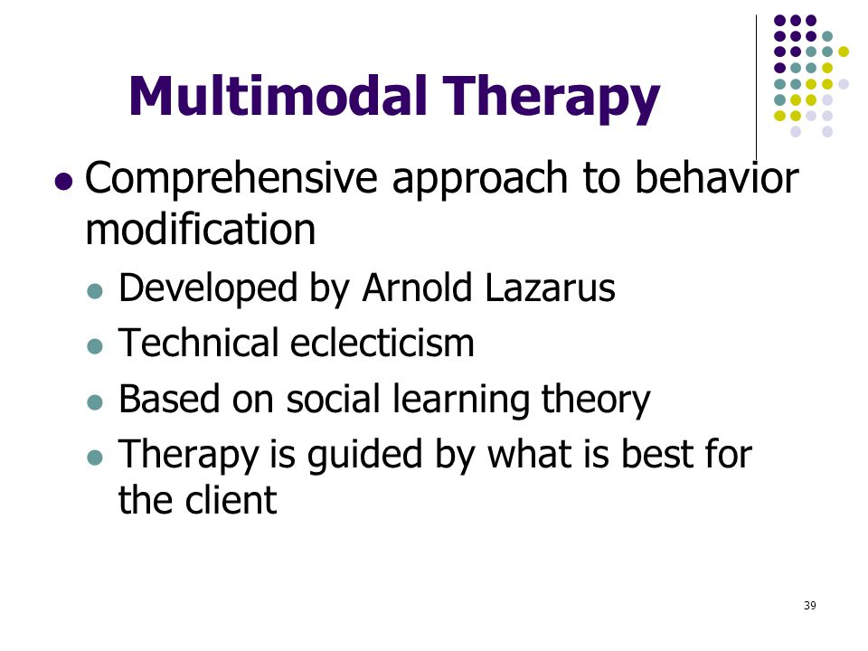 a behaviourist's approach to therapy is An evaluation of cognitive methodologies with hypnotherapy in  ellis rebt cognitive therapy  the principle theory of the behaviourist's approach to.