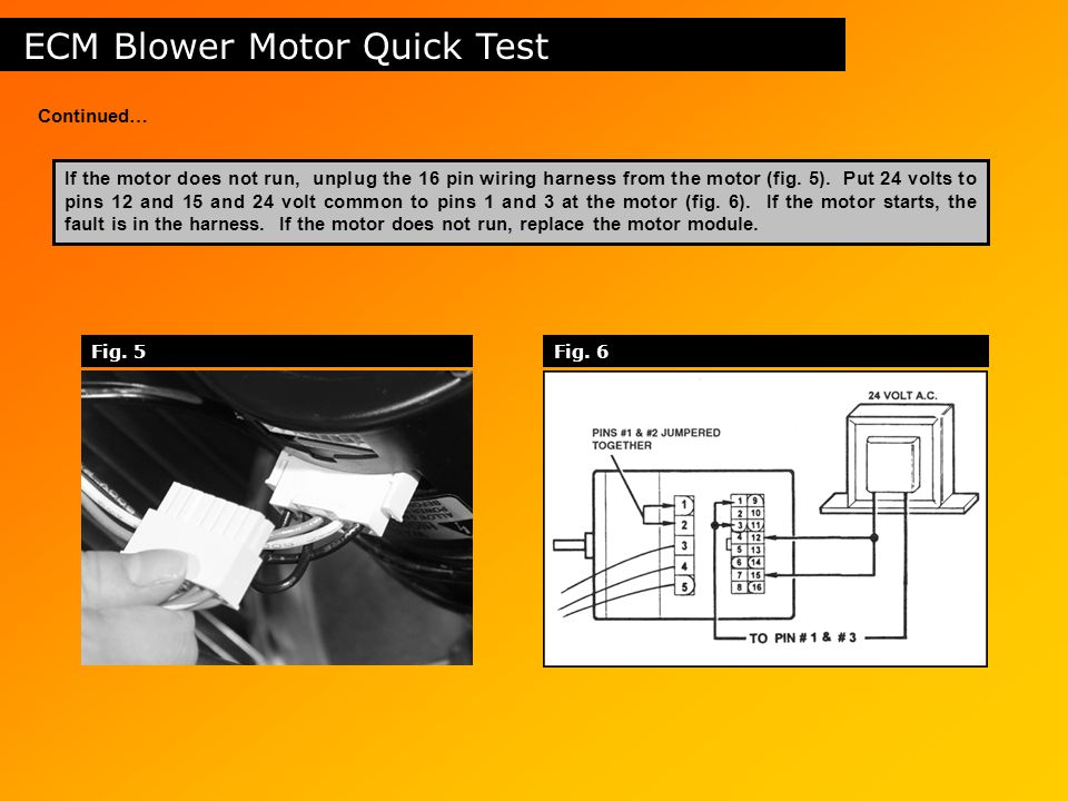 Table of contents safety circuits induced draft motors gas for Ecm blower motor tester