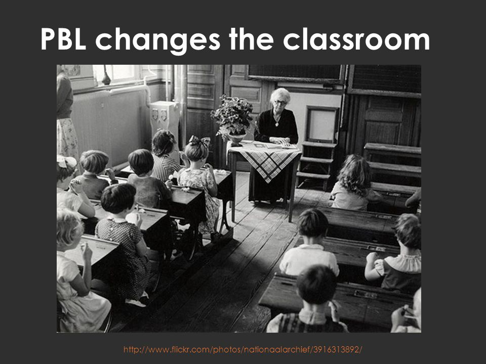 PBL changes the classroom