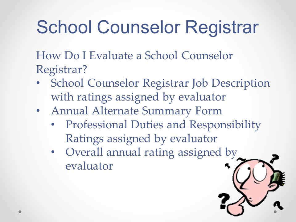 Evaluating School Counselors Sy Ppt Video Online Download