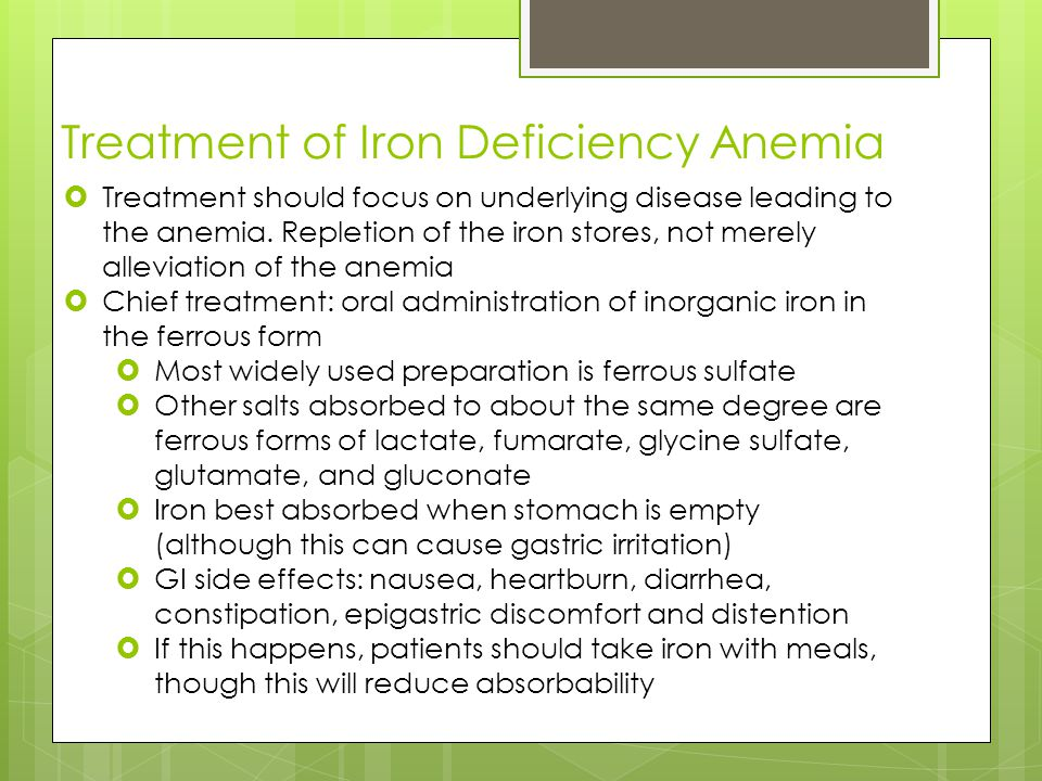 """diagnosing and treating iron deficiency anemia essay Overall, the prevention and successful treatment for iron deficiency  for  decades, it has been possible to diagnose and fully reverse the anemia of iron  deficiency at  however, a recent cochrane paper recommended, """"iron."""