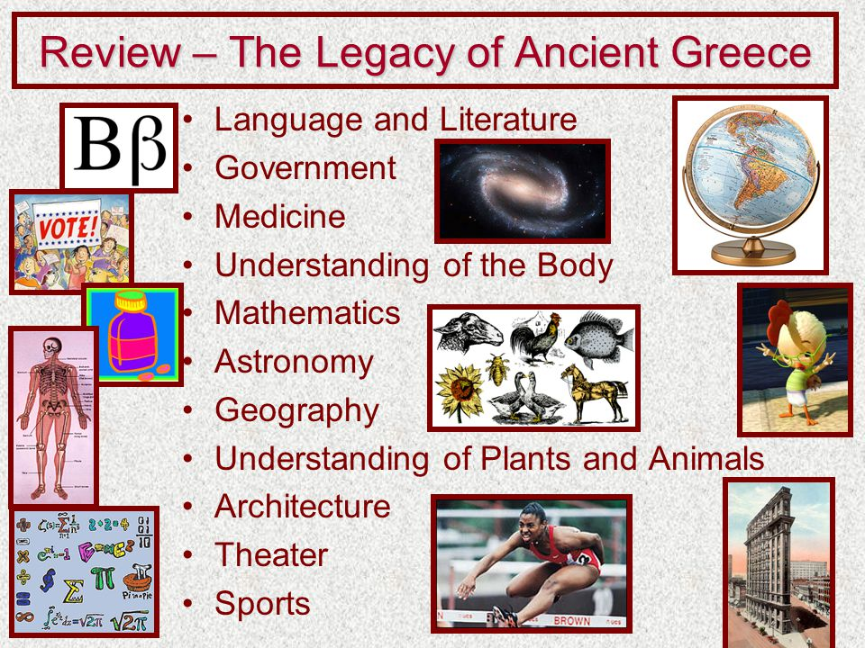 The Legacy Of Ancient Greece Ppt Video Online Download