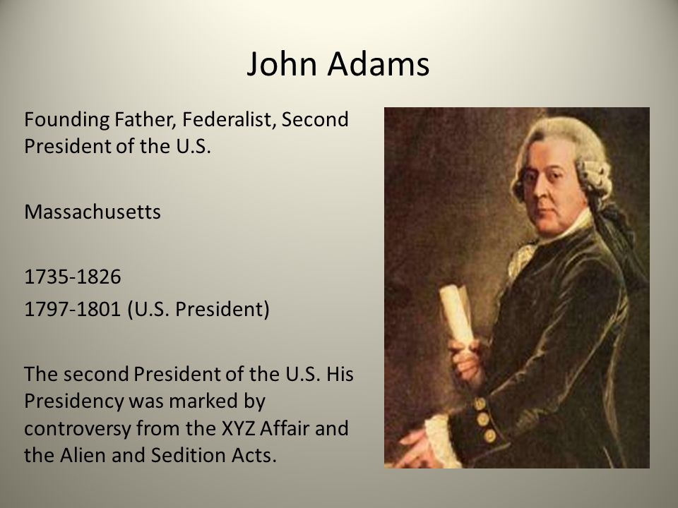 Adams passes first of Alien and Sedition Acts