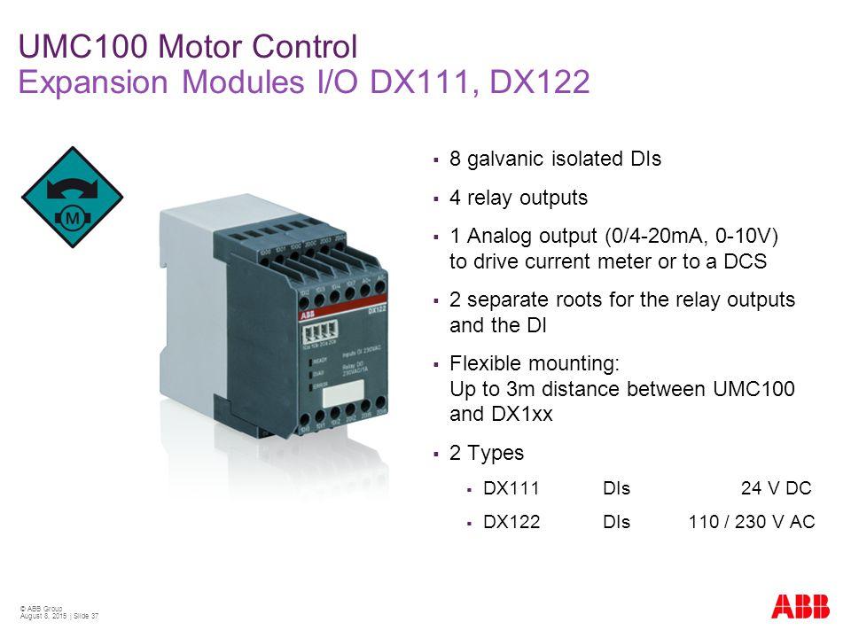 Umc Motor Control Expansion Modules I Fo Dx C Dx on Multifunction Digital Meter Ac