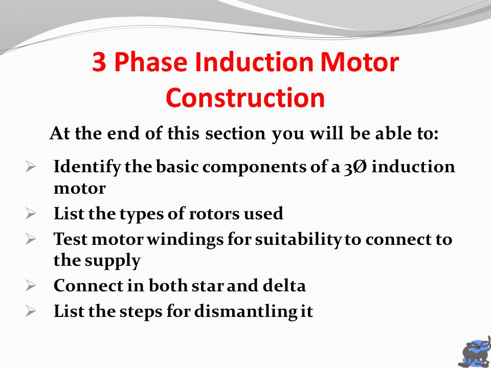 Awesome three phase induction motor connection image for 3 phase induction motor