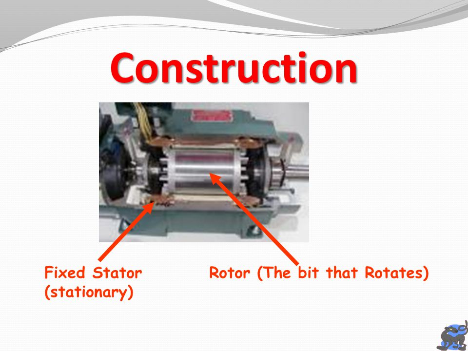 Rotor (The bit that Rotates)