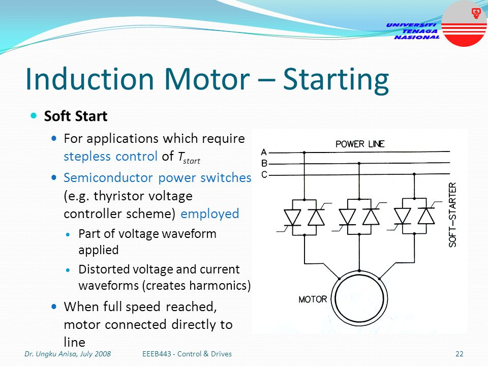 Csir Compressor Wiring Diagram : Capacitor start and run induction motor ppt images