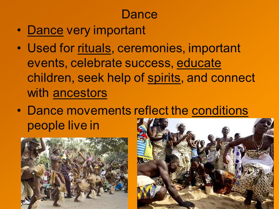 Dance Dance very important.