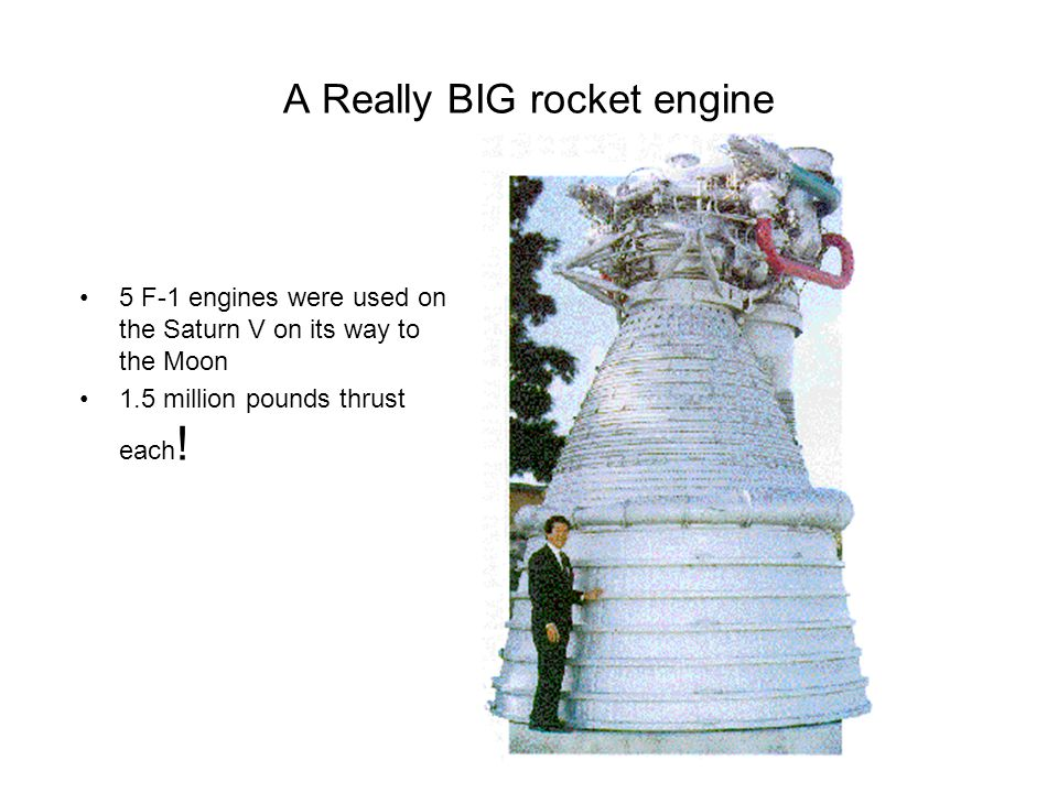 A Really BIG rocket engine