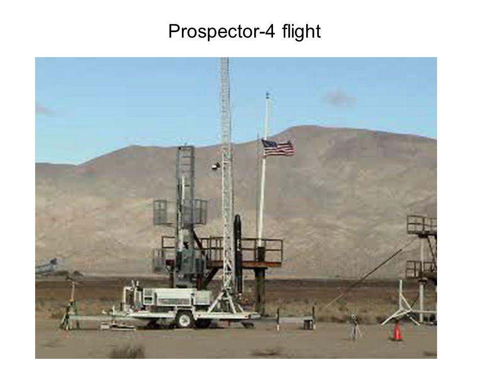 Prospector-4 flight