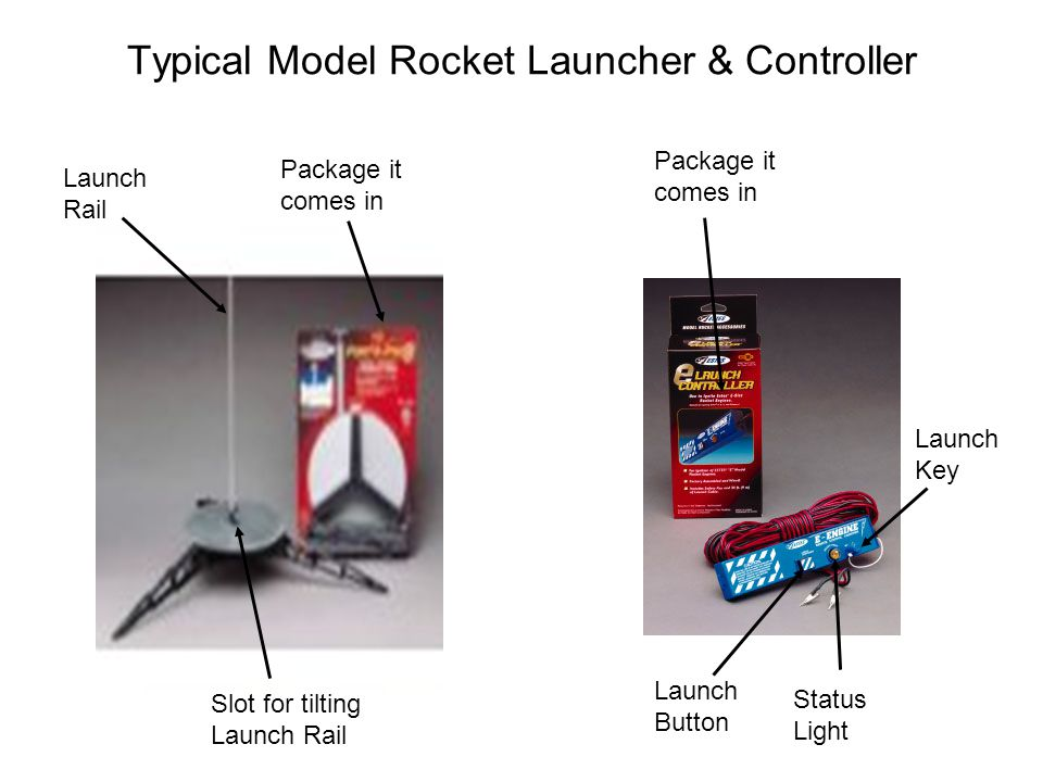 Typical Model Rocket Launcher & Controller