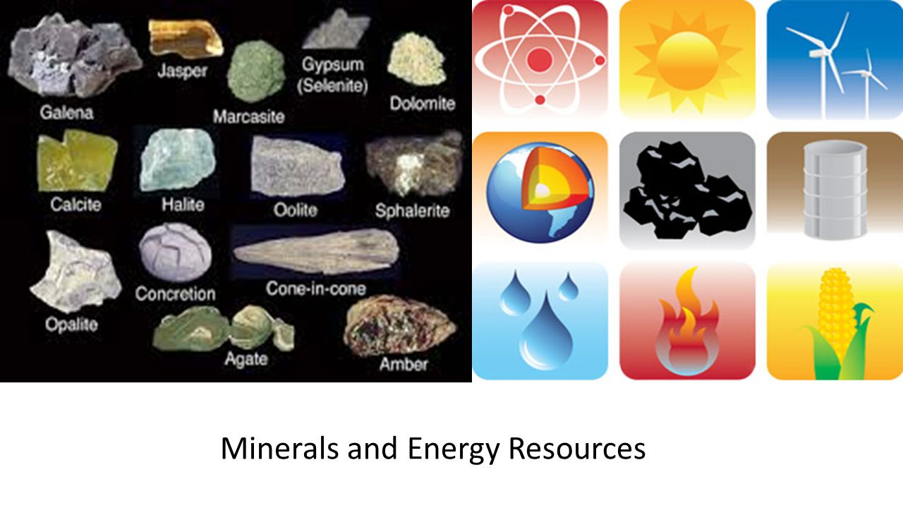 Minerals and Petroleum