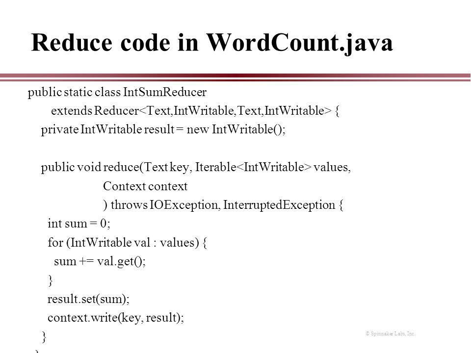 hadoop programming in java pdf