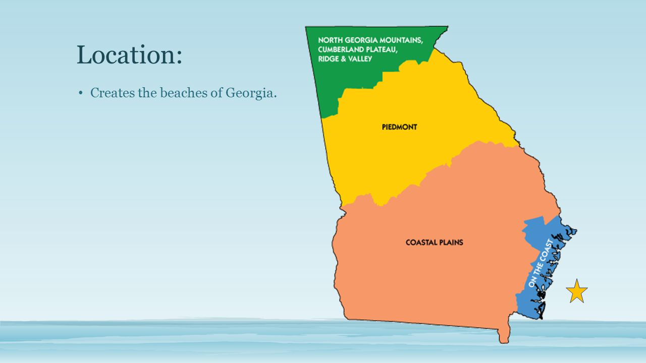 Georgia Habitats Atlantic Ocean Ppt Video Online Download - Georgia map beaches