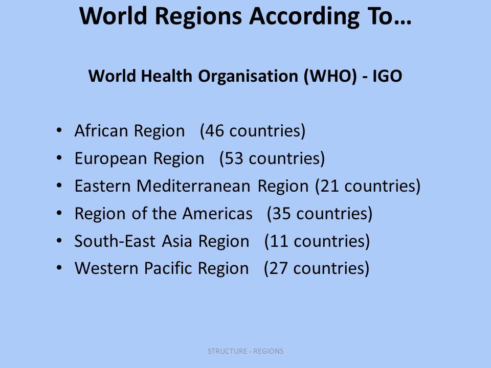 World health organisation essay