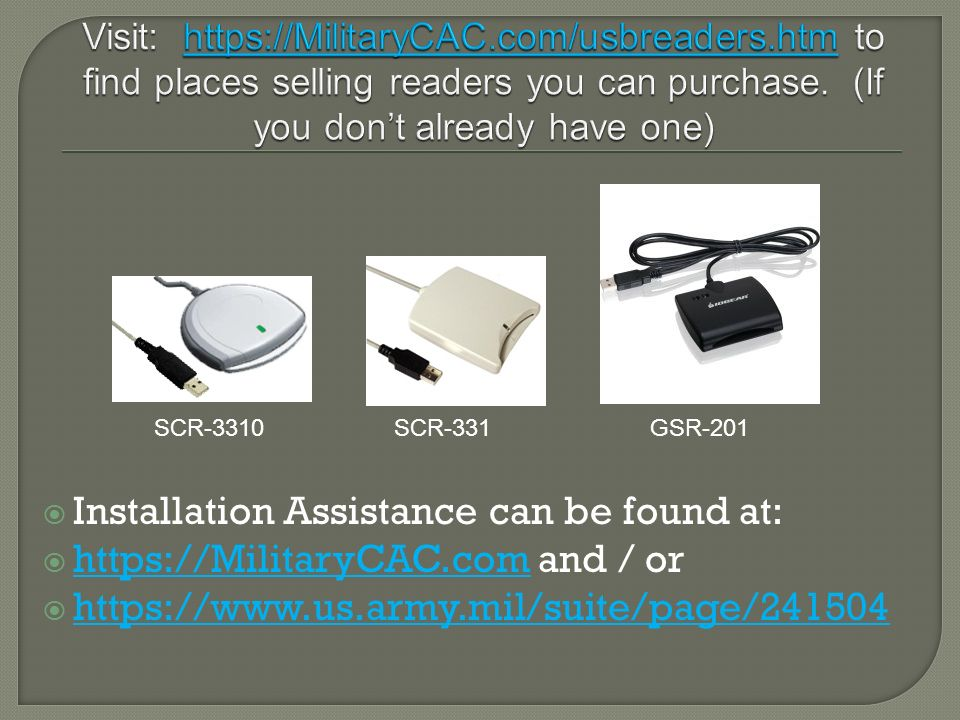 Installation Assistance can be found at: