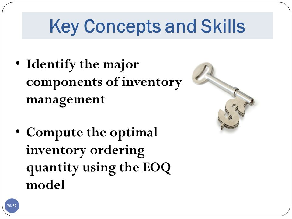 what are the major components of inventory carrying cost Classification of manufacturing costs and  inventory models purchasing cost, carrying cost  chapter four • classification of manufacturing costs and.
