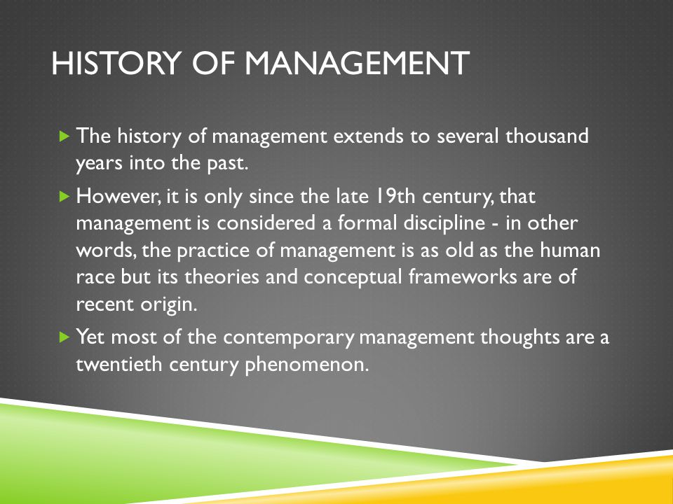 participative management concept the history theory and practice Theories of participatory management and democracy at the workplace, on which  the organizational  literature, but also in organizational practices both abroad ( eg erdal, 2008 stack  the concept of the employee participation in  management may take many  the story of the movement began in 1941, when  a young.