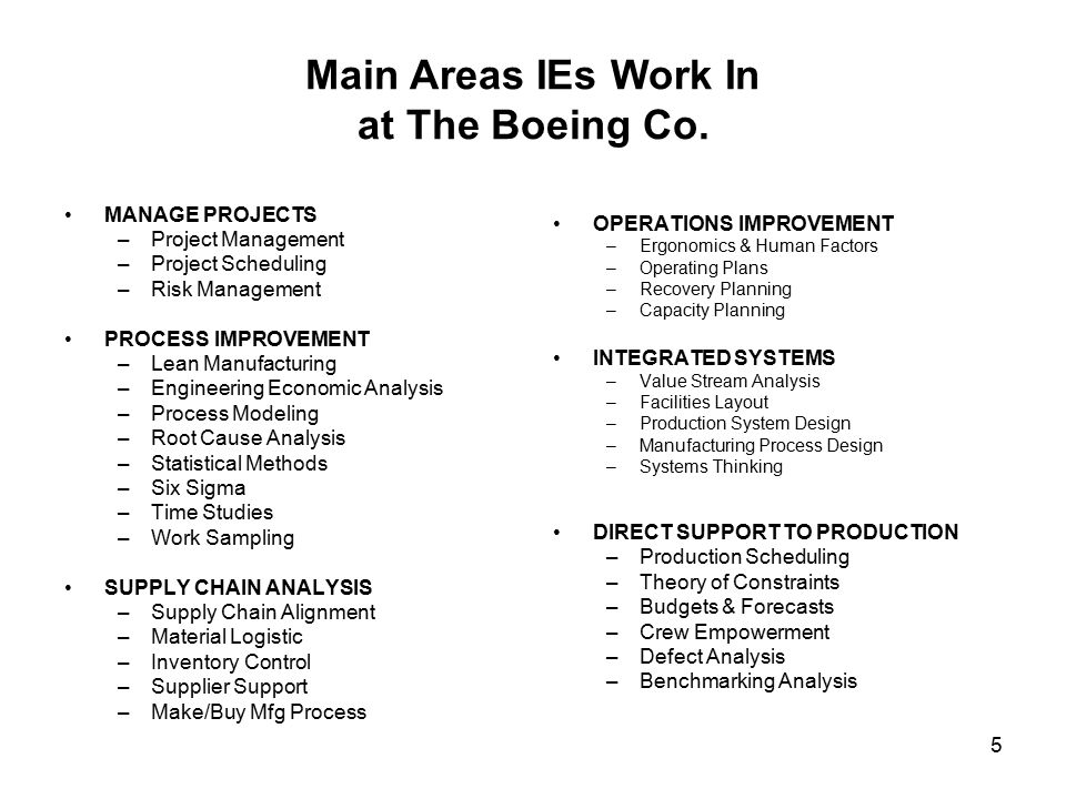 ie job description steve snelling industrial engineerprocess - Production Engineering Job