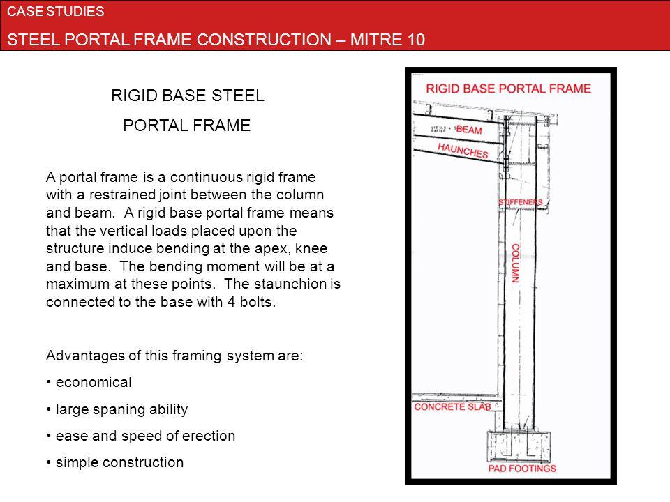 Portal Frame Construction Method Frame Design Amp Reviews