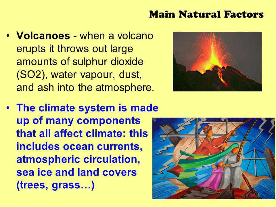 Main Natural Factors