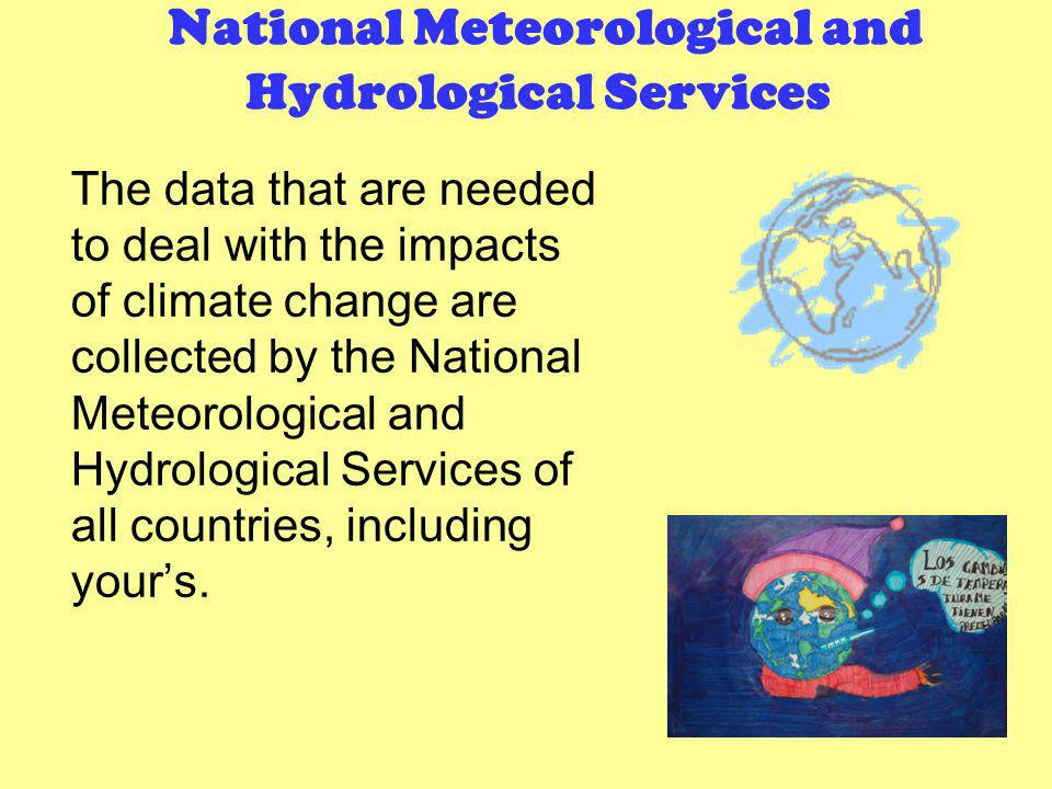 National Meteorological and Hydrological Services