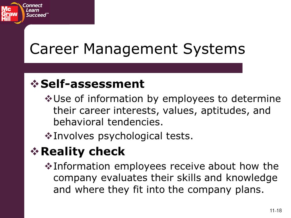 Career Management Systems