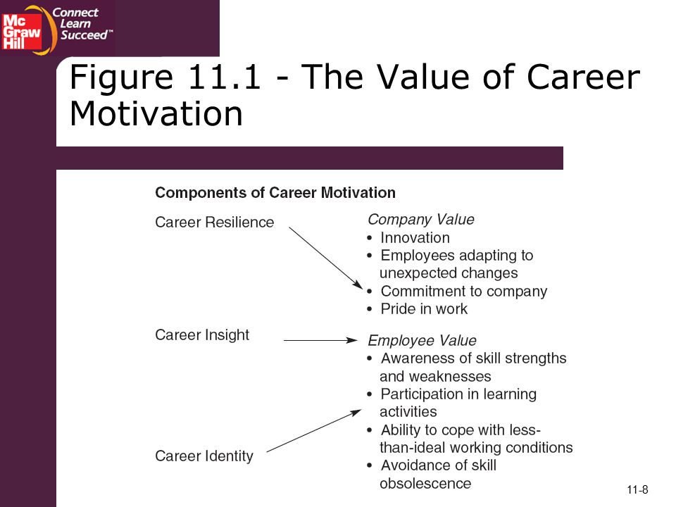Figure The Value of Career Motivation