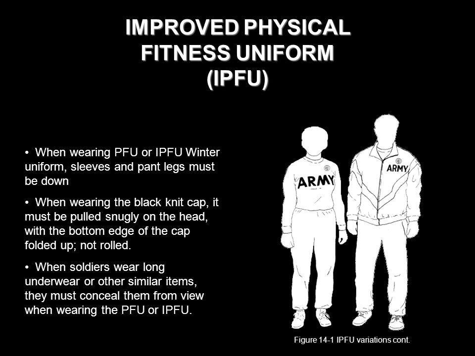 Physical training uniform
