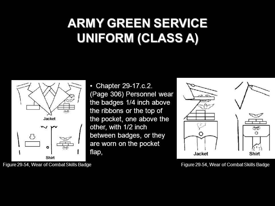 Army Class A Uniform Ribbons 63